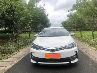 2017年10月 丰田 卡罗拉 改款 1.2T S-CVT GL-i真皮版图片
