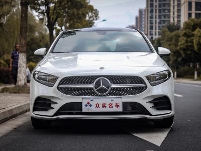 2021年1月 奔驰 奔驰A级 改款二 A 180 L 运动轿车图片