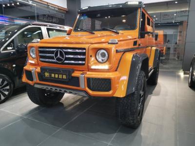 奔驰 奔驰G级  2018款 G 500 designo 匠心典藏版
