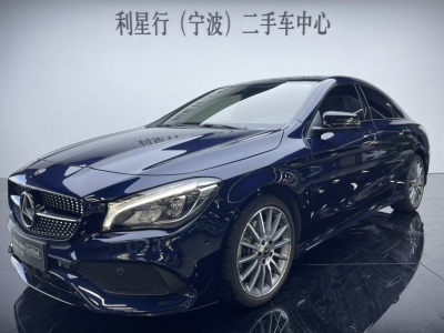 奔驰 奔驰CLA级  2018款 CLA 220 4MATIC