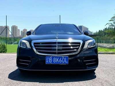 2019年4月 奔驰 奔驰S级(进口) S 450 L 4MATIC图片