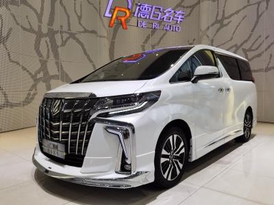 2018年11月 丰田 埃尔法(进口) 改款 3.5L 尊贵版图片