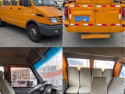 2013年6月  9座三台蓝牌:小型专用客车:(电力工程车) 图片